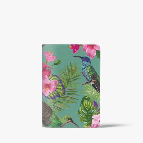 CEDON Heft A6 Flower Bird