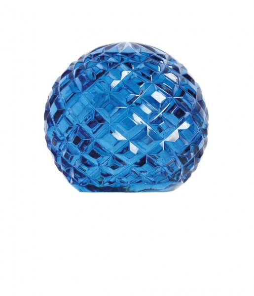 &klevering Briefbeschwerer Glass Sphere blau