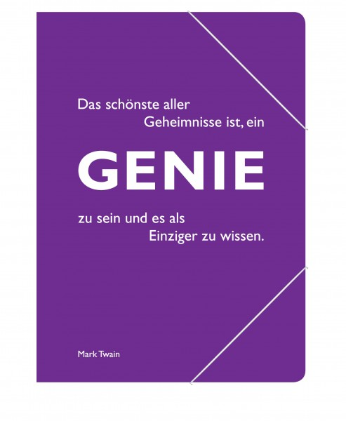CEDON Sammelmappe Twain Genie