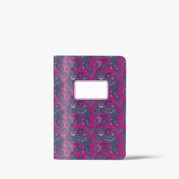 CEDON Heft A5 Paisley pink