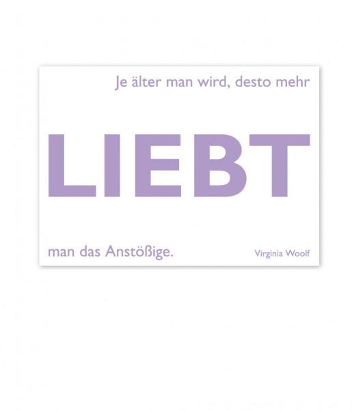 Postkarte Woolf Liebt | CEDON