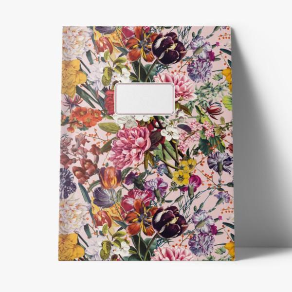 Heft A4 Blumengruß