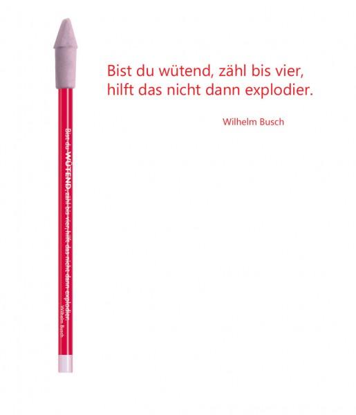 Bleistift rot Wütend | CEDON