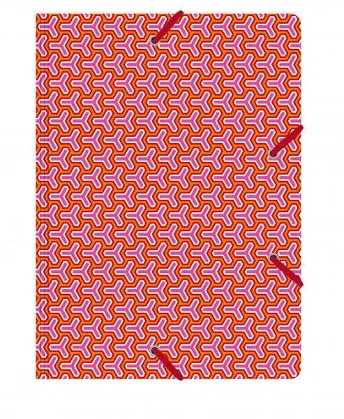 Sammelmappe de Luxe Spin orange | CEDON