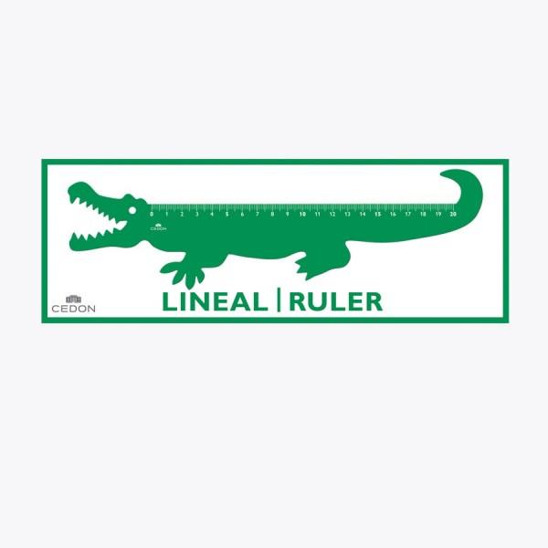 CEDON Lineal Krokodil