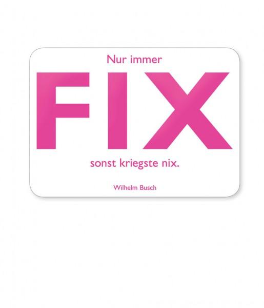 CEDON Postkarte Busch, Fix