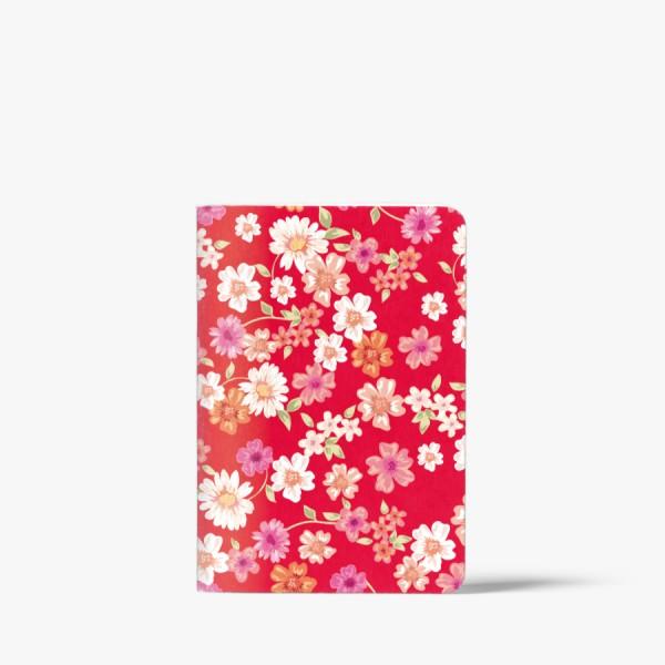 CEDON Heft A6 Blüten rot