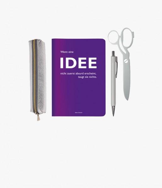 Mini-Schreibset Idee silber | CEDON