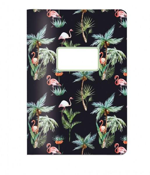 Heft Flamingos DIN A5 | CEDON