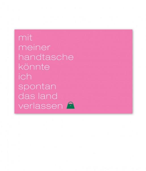 Postkarte Handtasche | CEDON