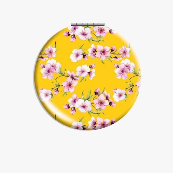 CEDON Klappspiegel Blüten gelb