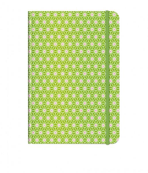 Notizbuch Asanoha grün DIN A5 | CEDON