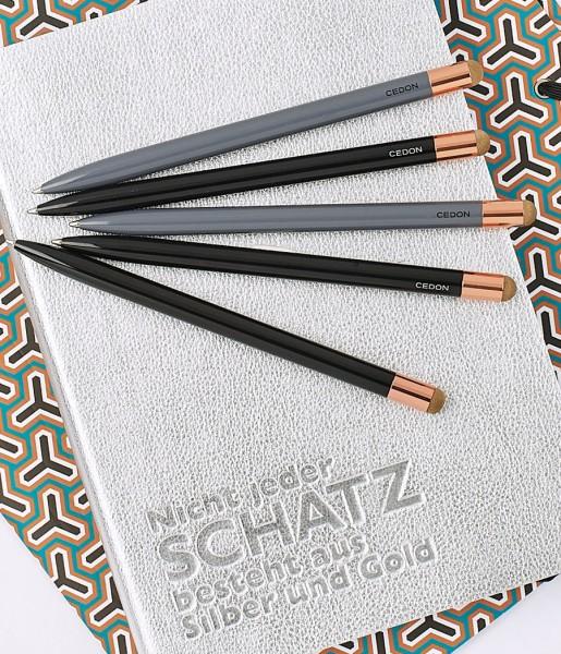 Kugelschreiber Touch Pen schwarz | CEDON