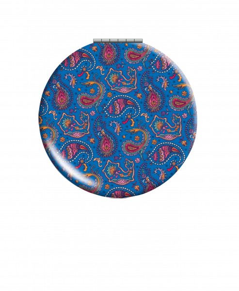 CEDON Klappspiegel Paisley blau