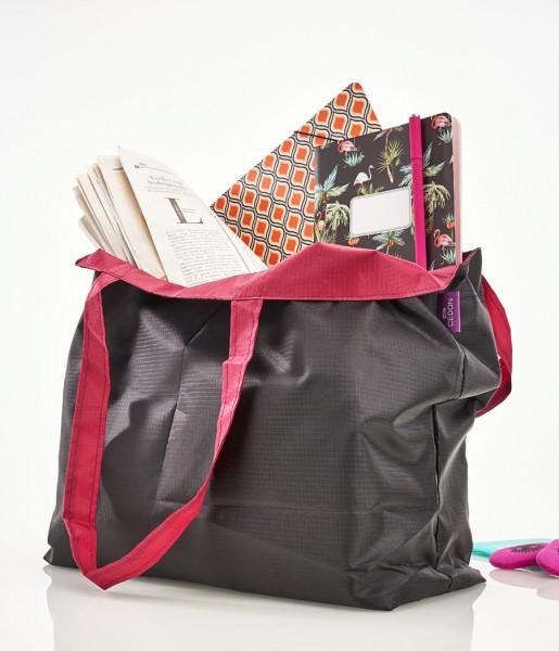 The Bag schwarz/bordeaux | CEDON