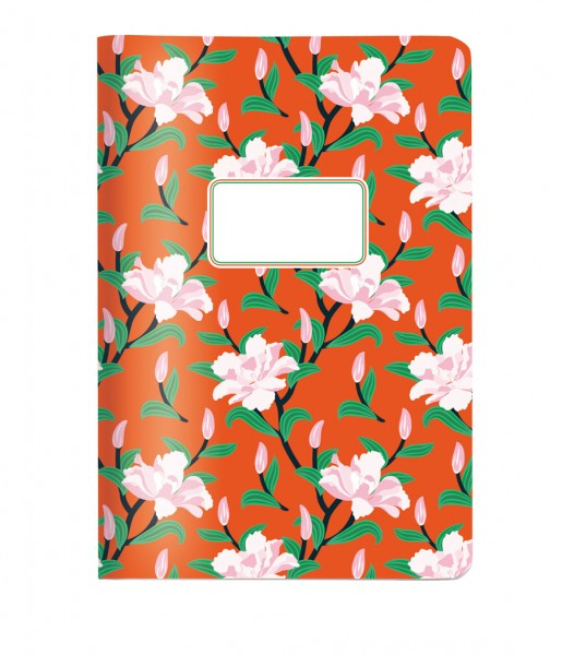 Heft Blume orange DIN A5 | CEDON