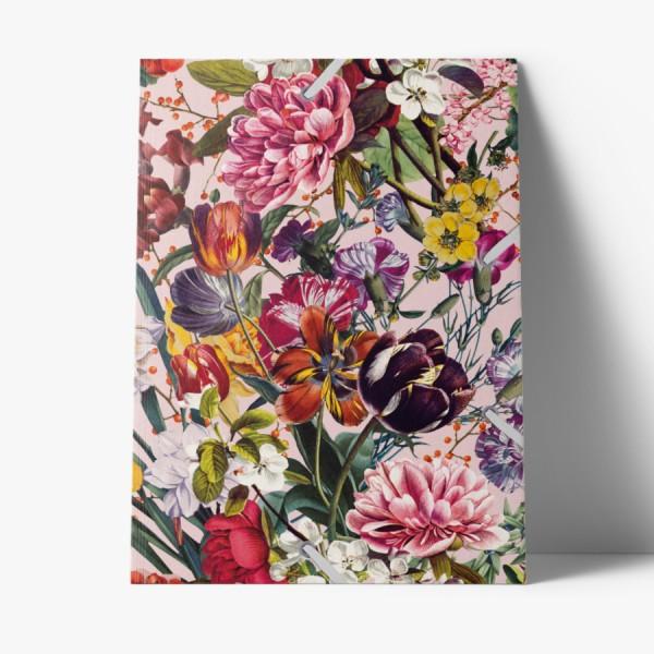 Sammelmappe de Luxe Blumengruss