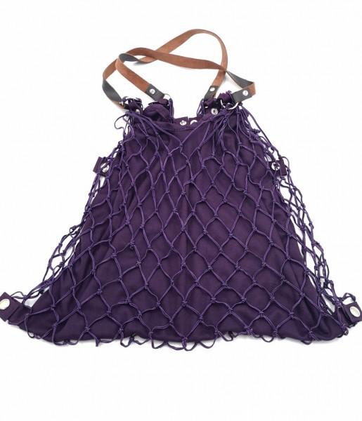 Kulturbeutel de Luxe violet | CEDON