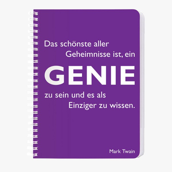 CEDON Ringbuch A5 Twain, Genie