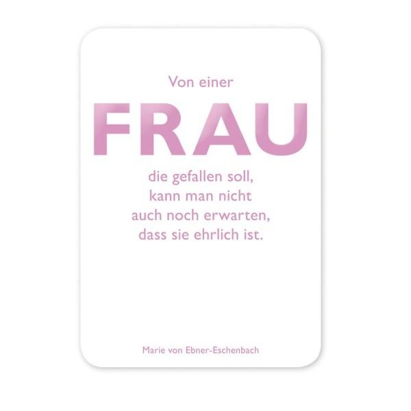 CEDON Postkarte Ebner-Eschenbach Frau