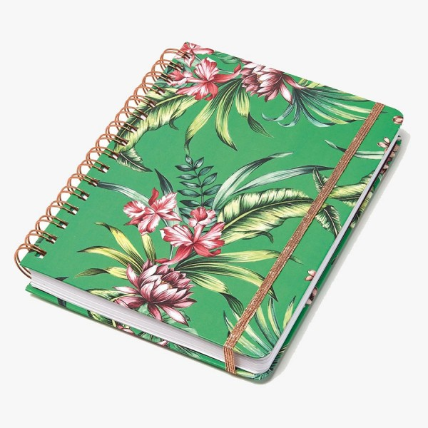 Ringbuch Tropical green
