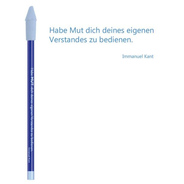 CEDON Bleistift blau - Immanuel Kant Mut