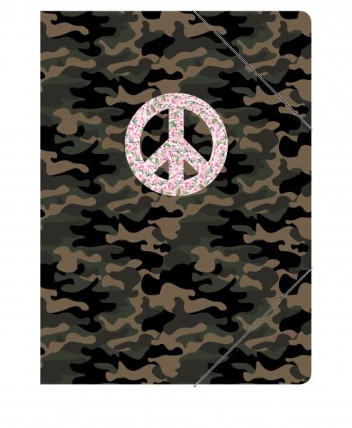 CEDON Sammelmappe Peace Camouflage