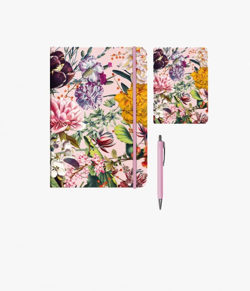 Mini-Schreibset Blumengruß