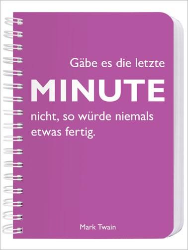 CEDON Ringbuch DIN A6 Twain, Minute