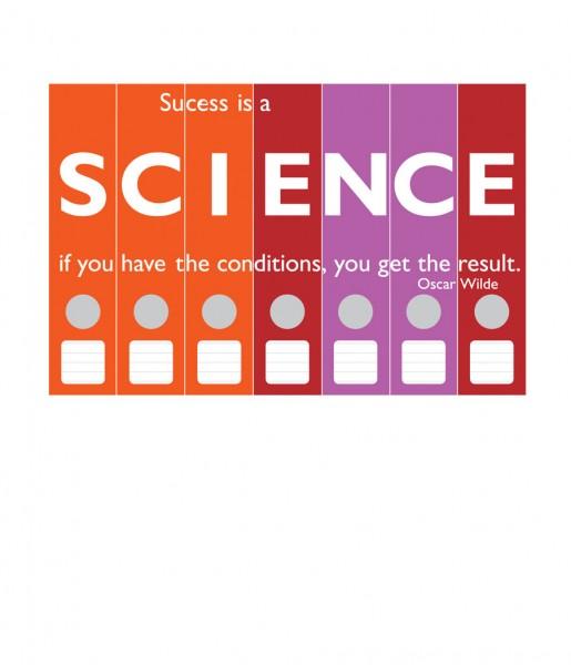 Ordnerrücken Science | CEDON