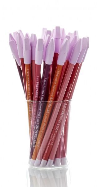 CEDON Bleistifte, rot englisch