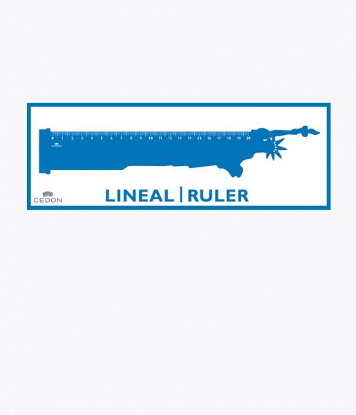 Lineal Freiheitsstatue | CEDON
