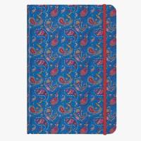 CEDON Notizbuch DIN A5 Paisley blue
