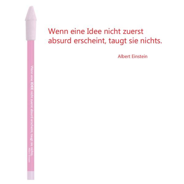 CEDON Bleistift rot - Albert Einstein Idee