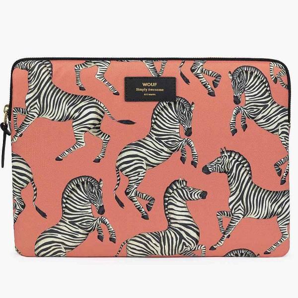 "Laptophülle 13"" Zebra"