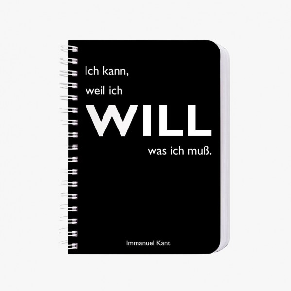 CEDON Ringbuch A6 Kant, Will