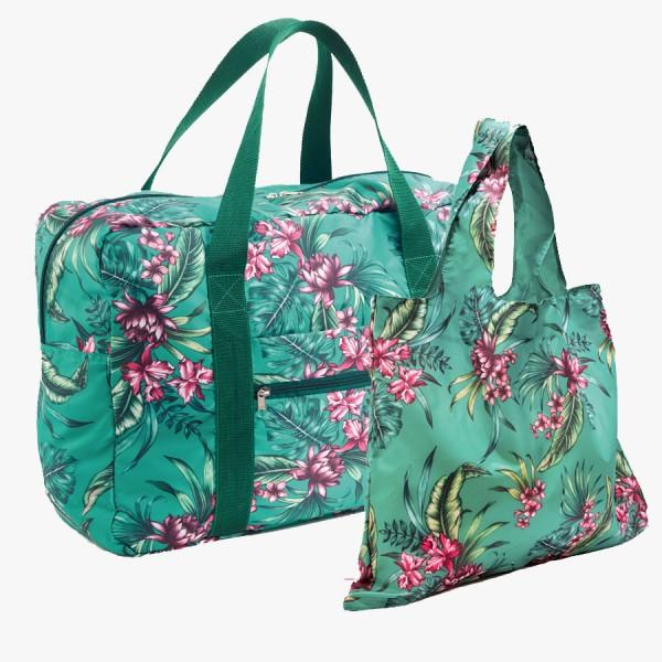 Taschenset Tropical green
