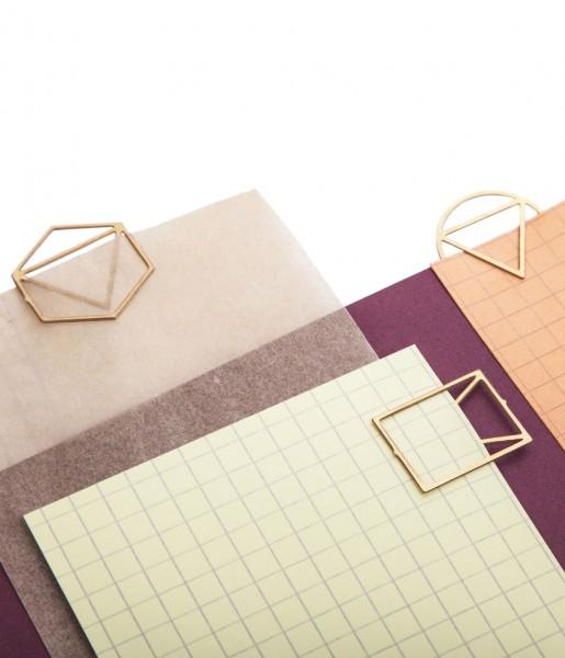 Papierclips 15er-Set Brass | Fundamental