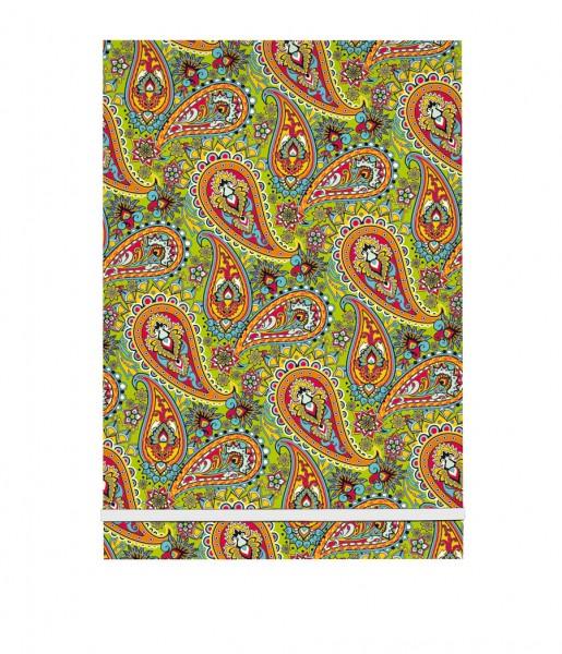 Schreibblock Paisley grün | CEDON