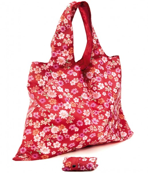 Easy Bag Blüten rot