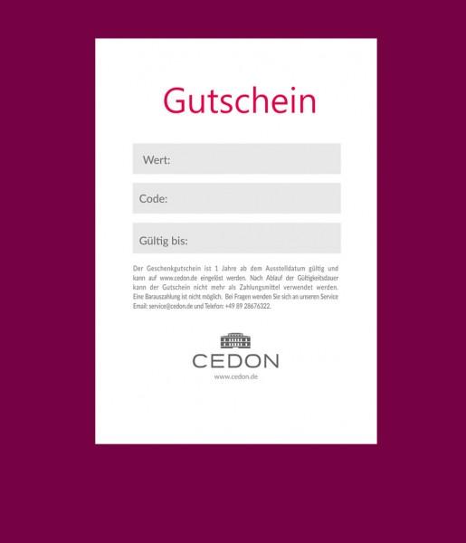 Gutschein 25€ | CEDON