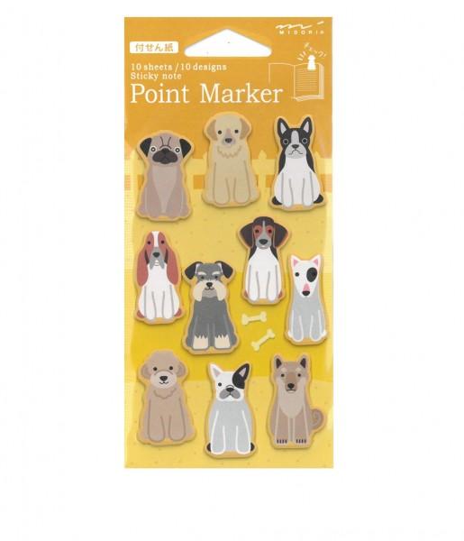 Midori Point Marker Hunde