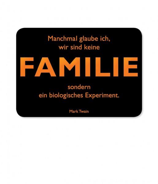 Postkarte Twain Familie | CEDON