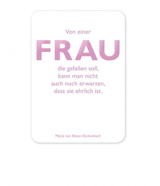CEDON Postkarte Ebner-Eschenbach, Frau