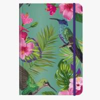 CEDON Notizbuch DIN A5 Flower Bird