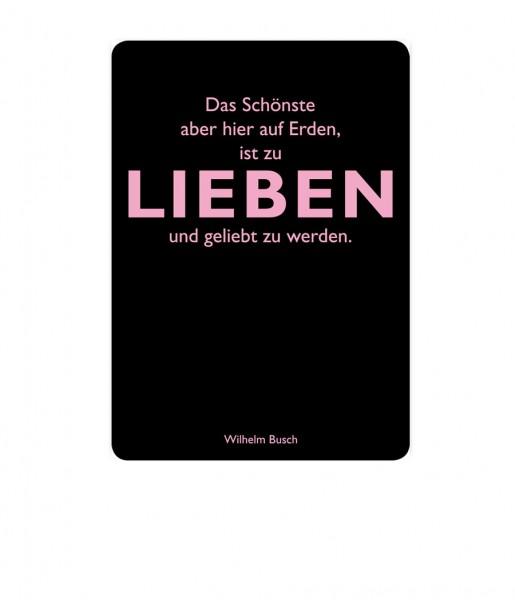 Postkarte Busch Lieben | CEDON
