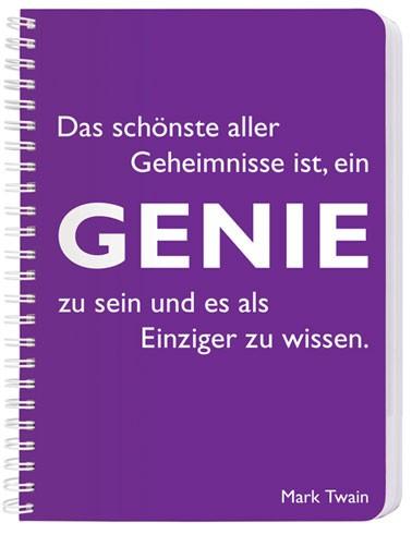 CEDON Ringbuch DIN A5, Twain Genie