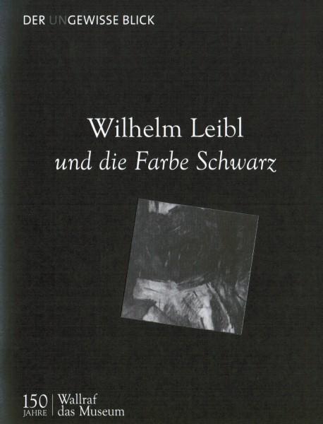 Wilhelm Leibl und die Farbe schwarz