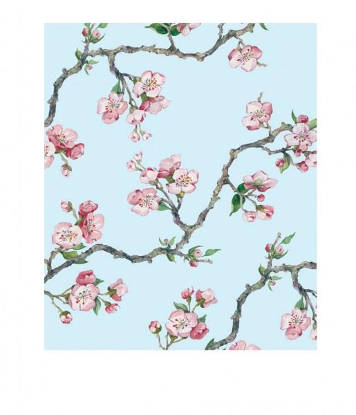 CEDON Microfasertuch Kirschblüte blau