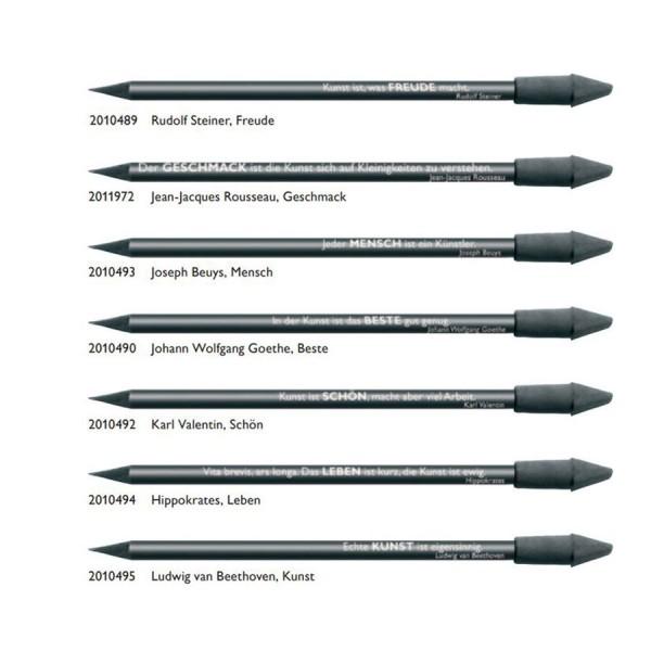 CEDON 7er-Set Bleistifte schwarz